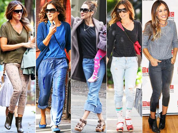 Sarah Jessica Parker Jeans Trend